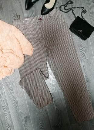 Топовые женские брюки в клетку