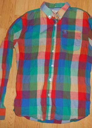 Рубашка на мальчика 12-13 лет