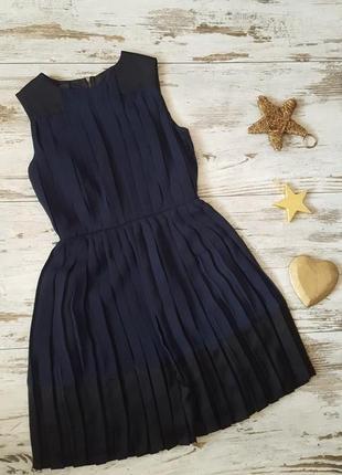 Нарядное вечернее платье плисерованное