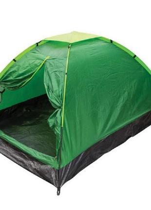 Палатка 2-х местная Зеленая 1,5*2 метра