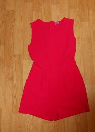 Платье-ромпер на девочку 9-10 лет
