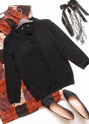 Стильный базовый свитер, джемпер