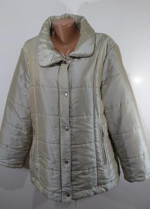 Перламутровая куртка осень - зима размер l