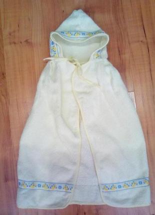 Полотенце махровое с капюшоном