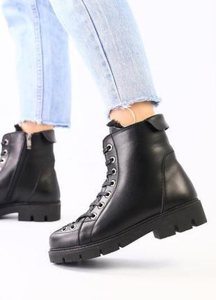 Lux обувь! шикарного качества зимние натуральные ботинки 🥾 на ...
