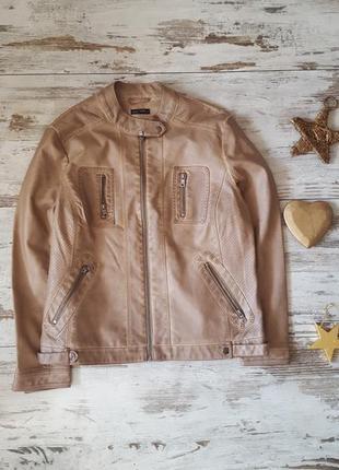 Куртка косуха эко кожа демизезонная