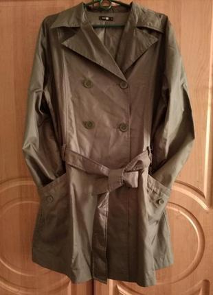 Плащ тренч ветровка куртка autre ton франция 46-52 размер