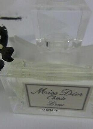 Туалетная вода miss dior cherie l`eau christian dior миниатюра...