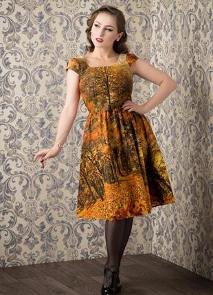 """Шикарнейшее платье """"золотая осень""""!"""