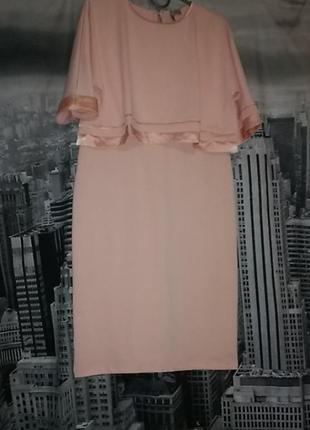 Платье asos персикового цвета