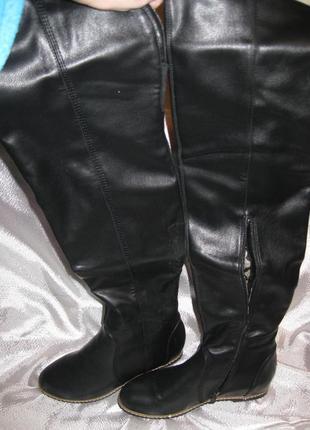 Ботфорты сапоги новые 37-38 размер