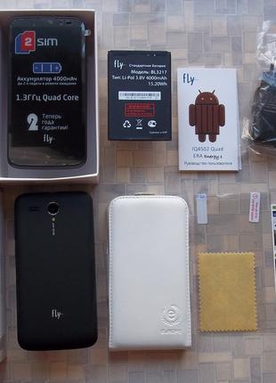 Новый смартфон FLY IQ-4502 4ядра 5дюймов 4000мАч акумулятор