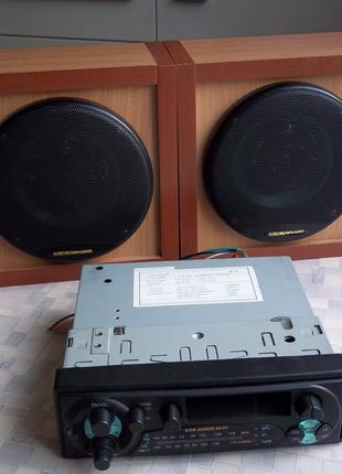 Комплект: две автомагнитолы Sonashi + 4 колонки Boshmann 200Вт