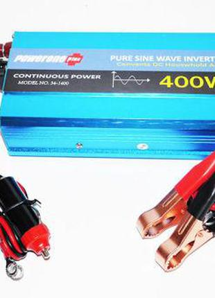 Преобразователь напряжения инвертор Powerone 12- 220V 400W - ч...