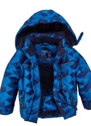 Теплая зимняя куртка на мальчика