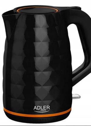 Чайник Adler AD 1277 black 1.7L
