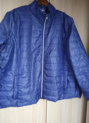Бледно синяя куртка