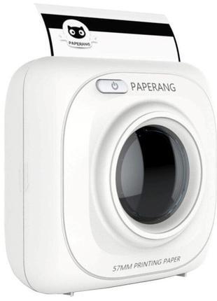 Портативный карманный мобильный принтер для телефона с bluetoo...