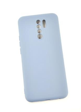 Чехол для телефона Xiaomi Redmi 9 Silicone TPU Soft Case Grey