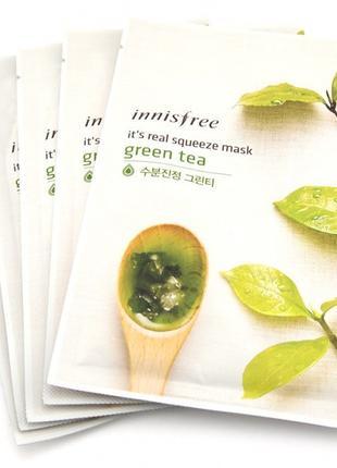 Innisfree It's Real Squeeze Mask Green Tea