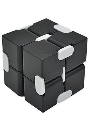 Кубик-антистресс Infinity Cube чёрный