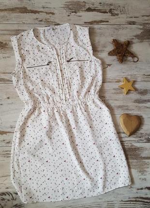 Легкое платье нежное летнее