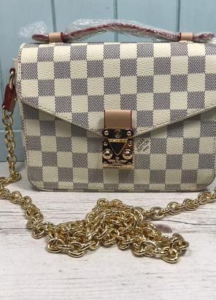 Женская сумка Louis Vuitton Metis mini жіноча Луи Виттон метіс
