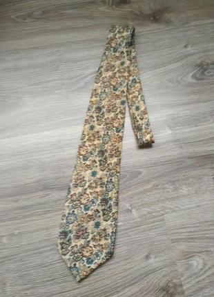 Burberrys галстук шелк винтаж