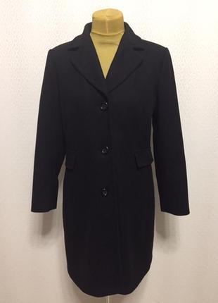 Элегантное шерстяное классическое пальто yessica (c&a), размер...