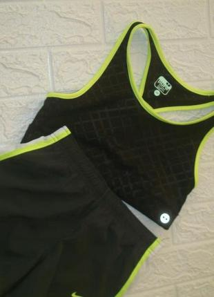 Nike спортивные шорты топ для бега тренировки