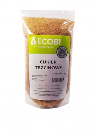 Тростниковый сахар Демерара 1 кг, Ecobi