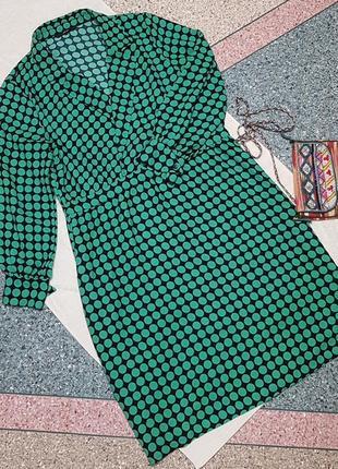 Платье в горох большого размера vero moda