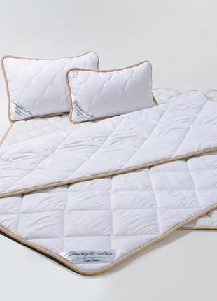 Комплект из шерсти мериноса Белый Классический Детский (Одеяло...