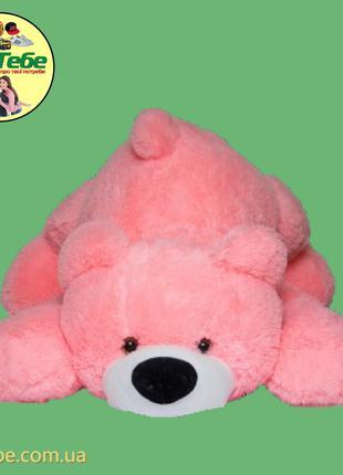 Медведь Умка 120 см Розовый. Большая мягкая игрушка .