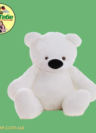 Медведь Бублик 110 см Белый. Большая мягкая игрушка