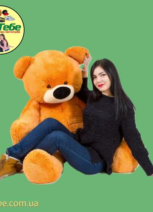 Медведь Бублик 200 см Медовый. Большая мягкая игрушка