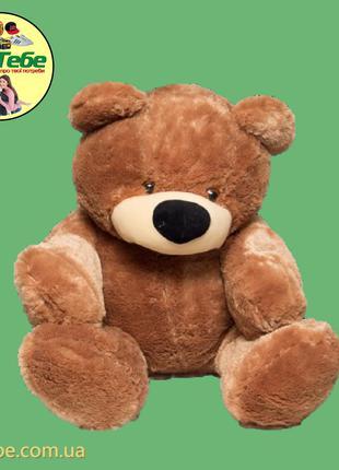 Медведь Бублик 140 см Коричневый. Большая мягкая игрушка
