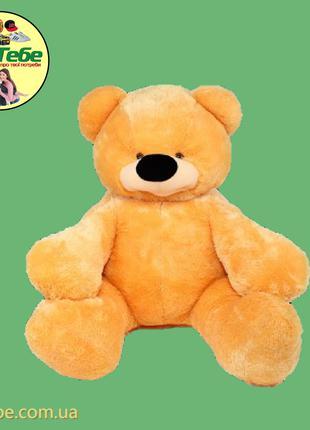 Медведь Бублик 110 см Медовый. Большая мягкая игрушка