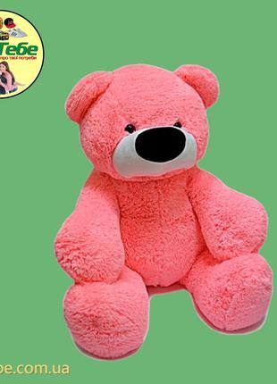 Медведь Бублик 140 см Розовый. Большая мягкая игрушка