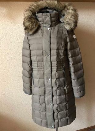 Пуховое пальто s.oliver. размер -м-л