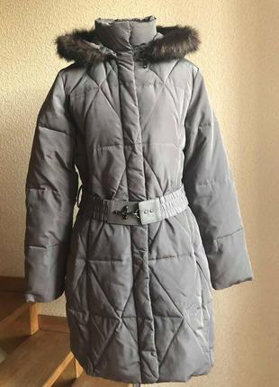 Пуховое пальто zero . размер l