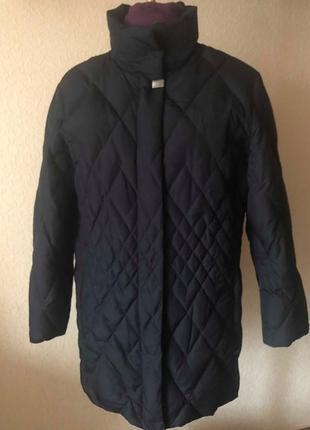 Пуховое пальто, пуховик delmod,размер xxl