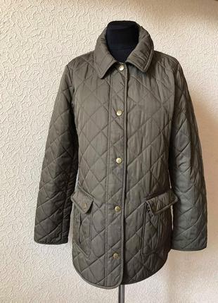Стеганная.демисезонная куртка tommy hilfiger