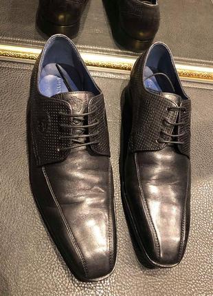 Кожаные туфли  melvin & hamilton