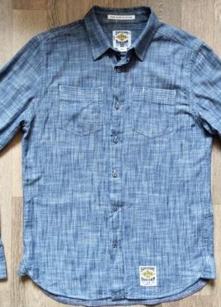 Мужская рубашка SUPER DRY размер L