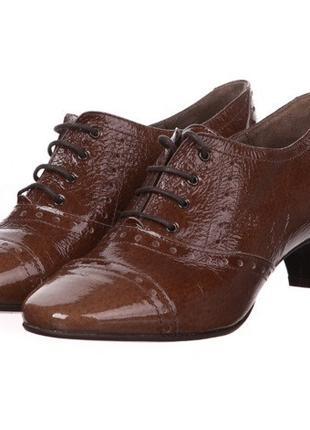 Туфли кожаные 37 р-р