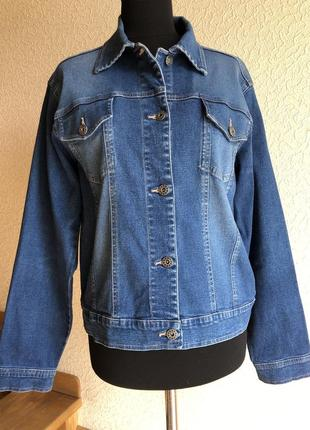 Пиджак джинсовый tcm