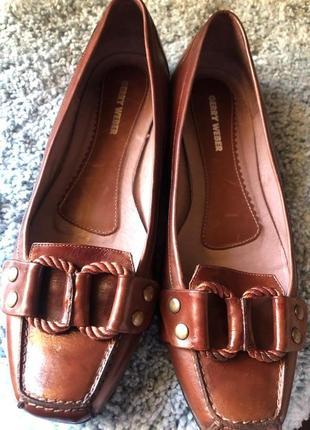 Туфли балетки  gerry weber .размер 38