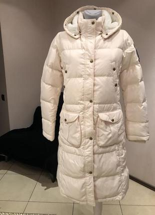 Пуховик. пуховое пальто ralph lauren. размер m