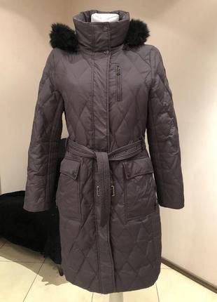 Пуховое пальто пуховик  ralph lauren. размер s
